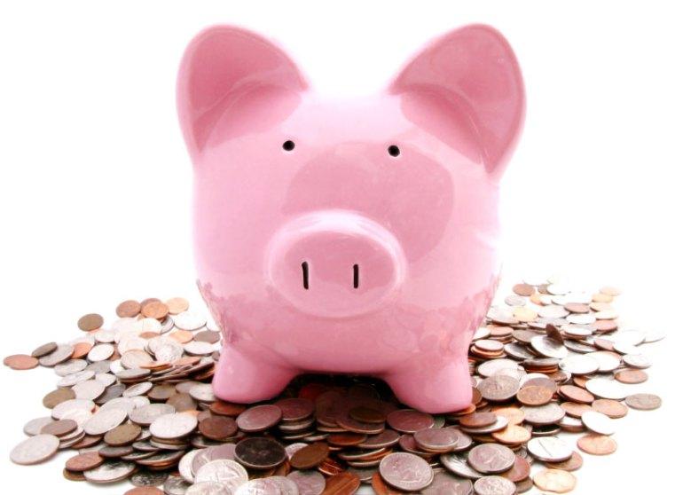 piggy-bank-atop-money