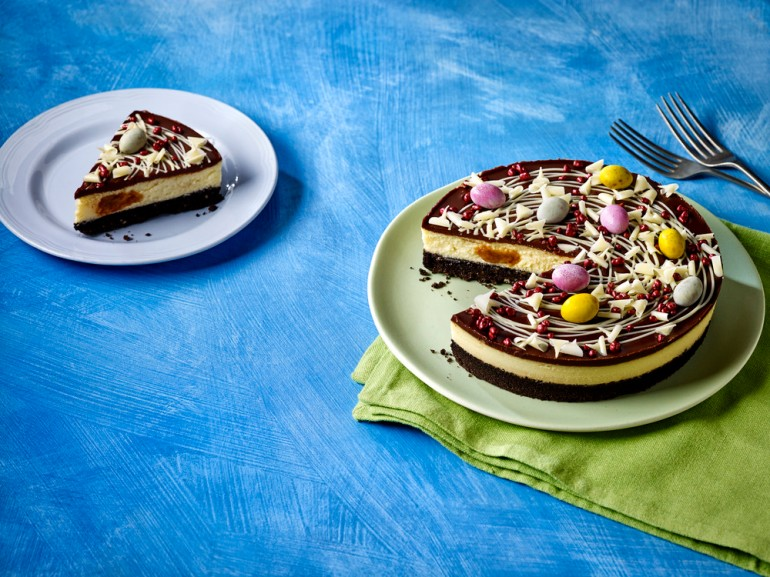 Easter Chaos Cheesecake