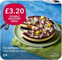 Double Discount - Chaos Cheesecake
