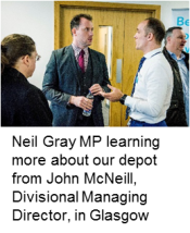 Neil Gray MP at our Glasgow event