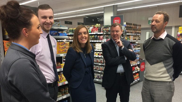 Graduate Elaine who'd like a career in HR, and 24-year old store manager Callum, chat to Steve