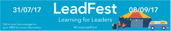 Leadfest banner