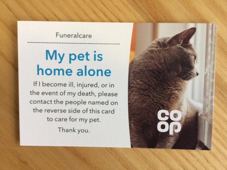 Image of Pet Card