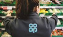 Co-op colleague in store