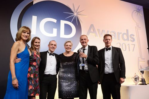 Then Co-op Food team picking up the award