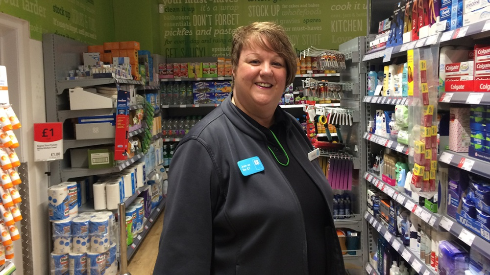 Dianne in our Kirkham store