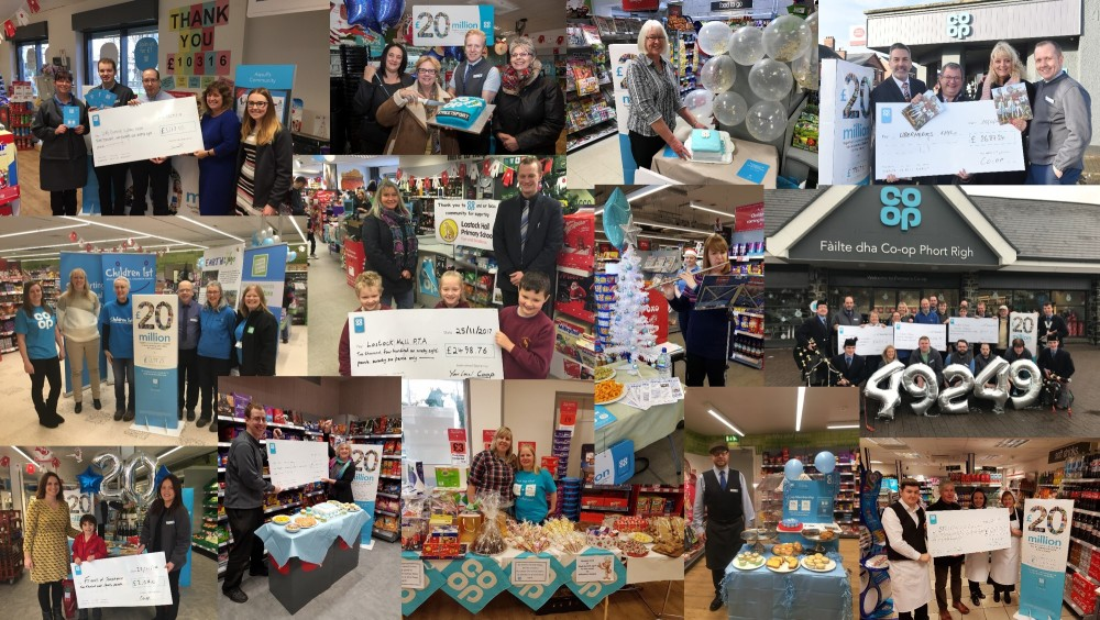 Celebration day montage of photos