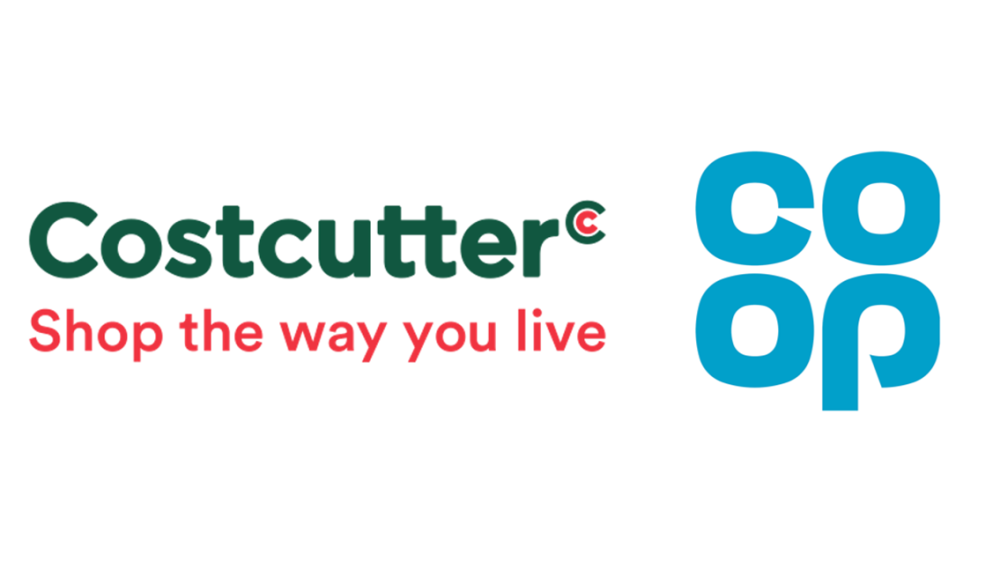 Costcutter and Co-op logos