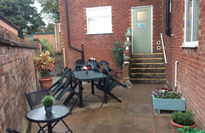 Marple Senior Citizen's garden