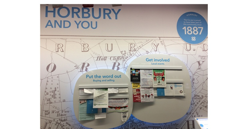 New community board in our Horbury store