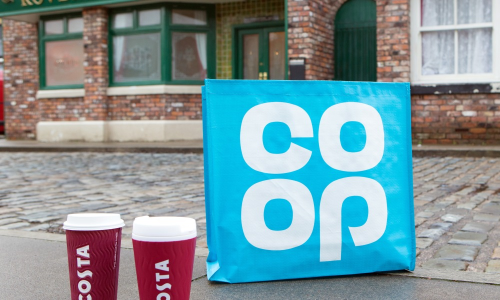 Co-op on the cobbles