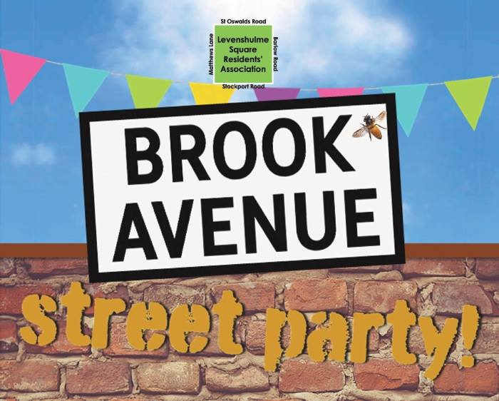 Street party poster
