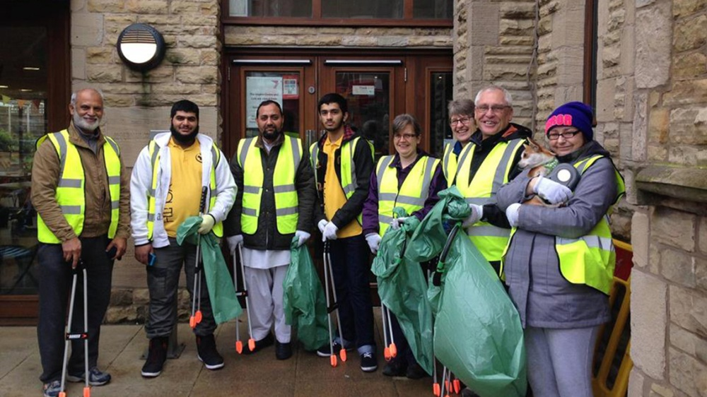Levenshulme Square Residents' Association litter picking