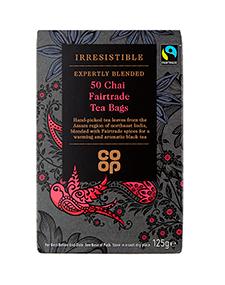 rresistible Chai Fairtrade Tea bags
