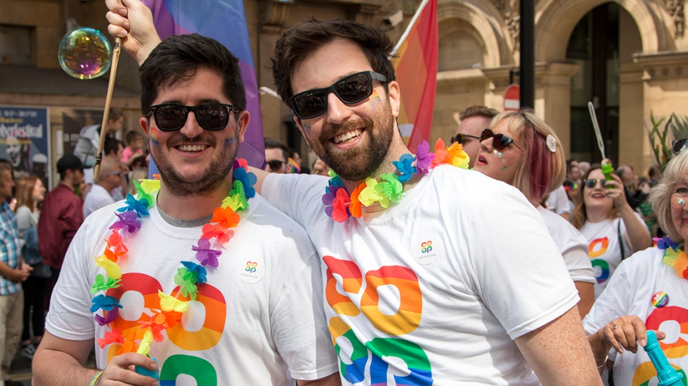 Co-op colleagues at Pride