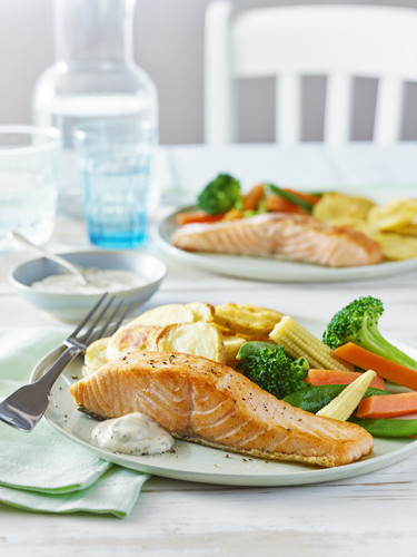 salmon meal deal