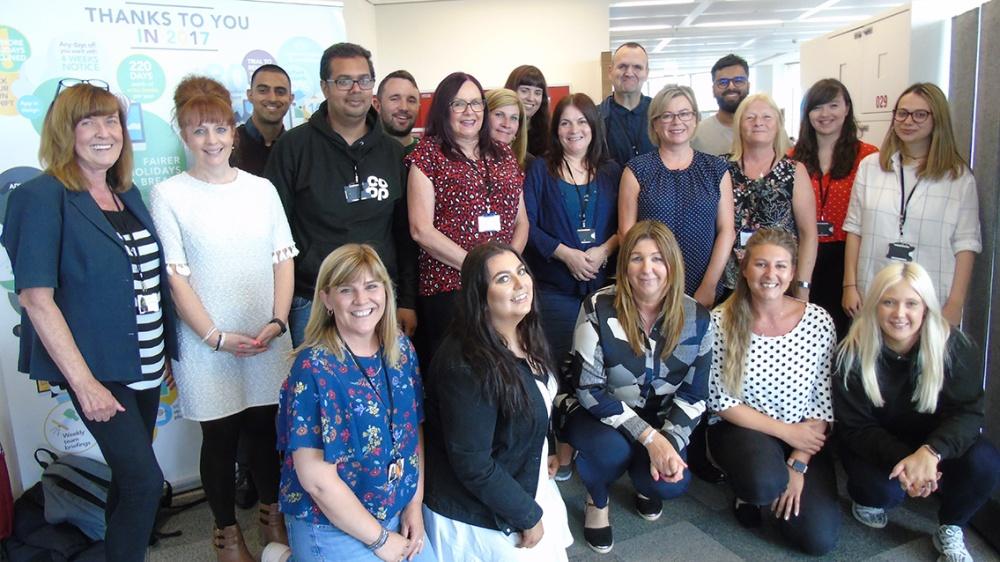 Co-op Service Centre colleagues