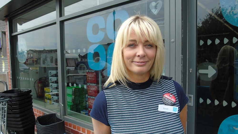 Store manager Sarah Kavanagh