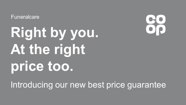 'Right by you - at the right price too' advert