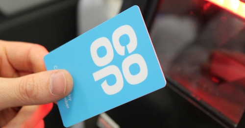 Co-op colleague membership card held in hand