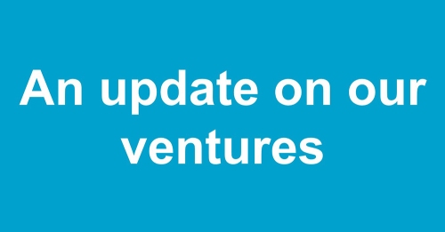 Words: An update on our ventures