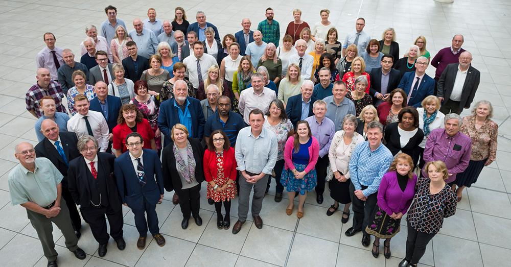 Council members in Sep 2018