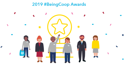 2019 #BeingCoop Awards logo