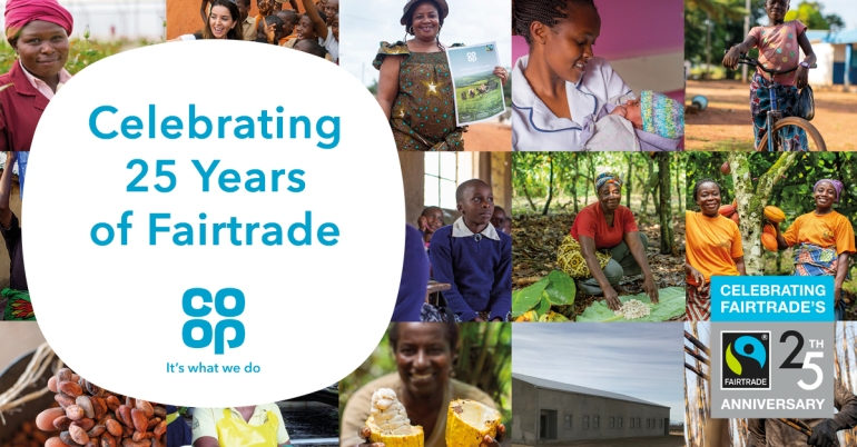 Celebrating25YearsOfFairtrade