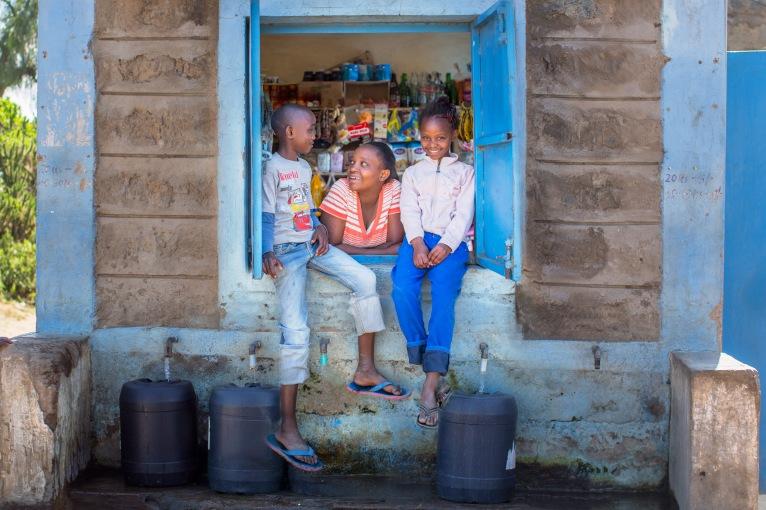 Water kiosk family