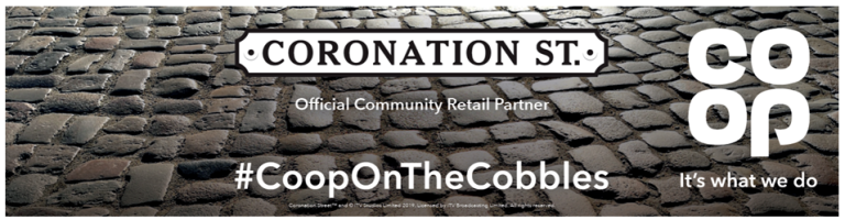 Co-op on The Cobbles Banner